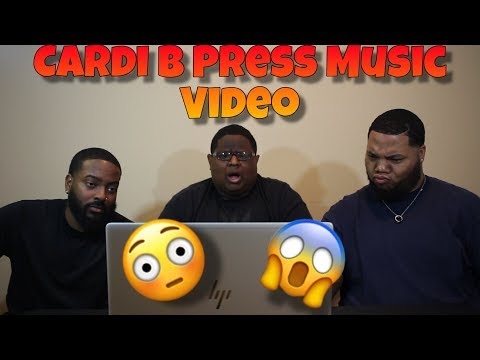 Cardi B - Press [Official Music Video] (REACTION) 💦😳