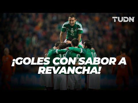 ¡Así fue la última vez que México y Holanda se enfrentaron! | TUDN