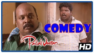 Video Latest Tamil Comedy 2018 | Padaiveeran Comedy Scenes | Vijay Yesudas | Singampuli | Bharathiraja MP3, 3GP, MP4, WEBM, AVI, FLV Maret 2019