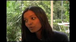 Andrea Wozny interviews Liya Kibede at the Hamptons International Film Festival