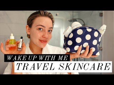 MY REAL & SIMPLE MORNING SKINCARE ROUTINE FOR WEEKEND TRAVEL   Kailin Chase
