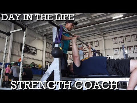 A DAY IN THE LIFE!         STRENGTH COACH!