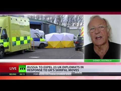 'Skripal case is a carefully-constructed drama' – John Pilger