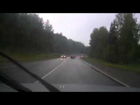 Авария с фурой на трассе