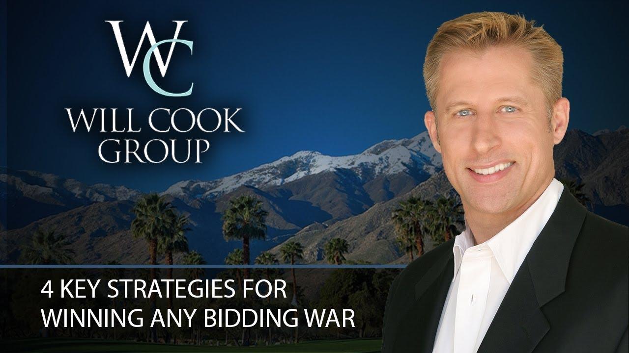 4 Key Strategies for Winning Any Bidding War