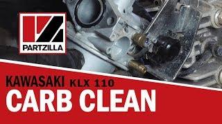6. How to Clean a Carburetor on a Dirt Bike   Kawasaki KLX   Partzilla.com