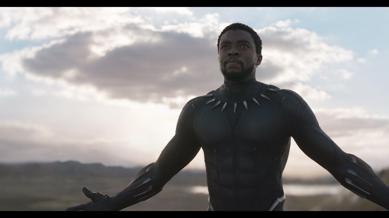 He's a Hero, Legend & King. Chadwick Boseman is the 'Black Panther' with Michael B. Jordan, Lupita Nyong'o & All-Star Cast