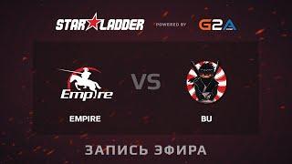 Empire vs BU, game 1