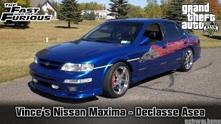Nonton GTA 5 The Fast & the Furious - Vince's Nissan Maxima v1 (Asea) Car Build #54 Film Subtitle Indonesia Streaming Movie Download
