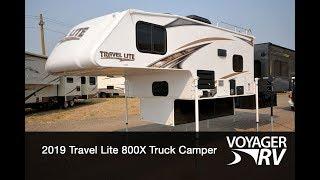 1. 2019 Travel Lite 800X Truck Camper RV Video Tour - Voyager RV Centre