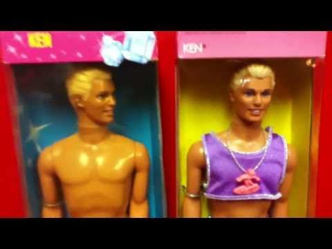 Beach Loving Ken Dolls! Barbie Dolls Friend! Glitter and Jewels! Mini Toy Doll Review by Mike Mozart