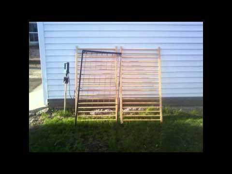 Using Trellises in the Garden – The Wisconsin Vegetable Gardener Visual Podcast (Show 3)