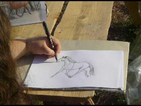 Wenn ich zeichne …