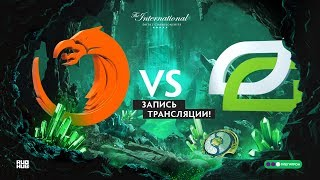 TNC Predator vs OpTic, The International 2018, game 1
