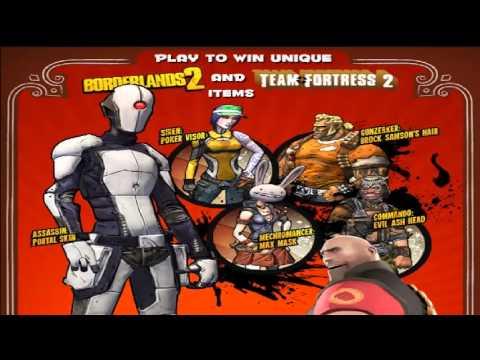 Poker Night 2 all Team Fortress 2 and Borderlands 2 Unlocks