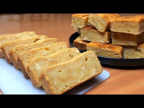 BREAD PUDDING Pinoy Style Leftover Bread Recipe