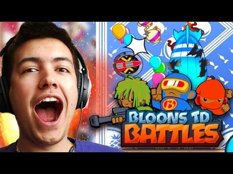 Bloons TD Battles! - BIGGEST CLUTCH WIN EVER! - Bloons TD Online!