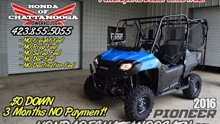 10. 2016 Honda Pioneer 700-4 Video Review & Walk-Around / For Sale TN GA AL
