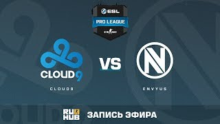 Cloud9 vs. EnVyUs - ESL Pro League S5 - de_cobblestone [CrystalMay, SleepSomeWhile]