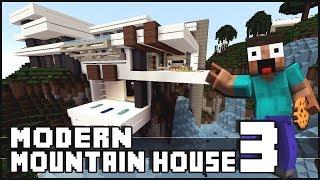Minecraft - Modern Mountain House 3