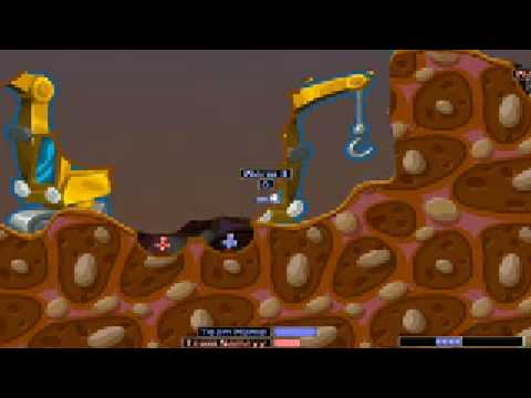 Worms 2 Cool Weapons! (Gameplay Test)