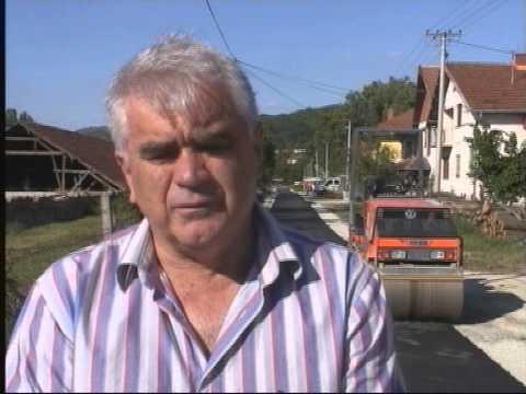 Asfaltiranje lokalnih puteva u Brđanima