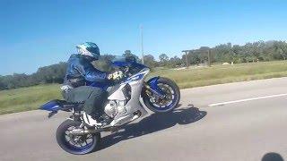 5. 2015 YAMAHA YZF-R1 Wheelie