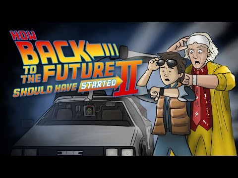 How Back To The Future 2 Should Have Started