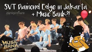 Video Seventeen Diamond Edge & Music Bank in Jakarta!! (EXO, NCT 127, GFRIEND, B.A.P, ASTRO) [ VLOG ] MP3, 3GP, MP4, WEBM, AVI, FLV Desember 2017