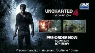 Uncharted 4 A Thief's End, vidéo making of par Naughty Dog