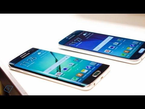 Youtube Video Samsung Galaxy S6 Edge mit 32 GB in white pearl