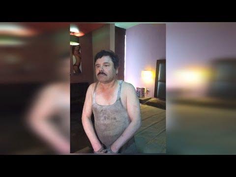 """""""Chapo"""" Guzman: revelan imágenes inéditas de su última captura"""