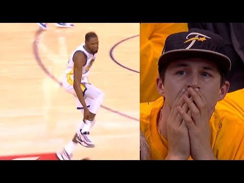 Kevin Durant leave game with leg injury | Warriors vs Rockets Game 5