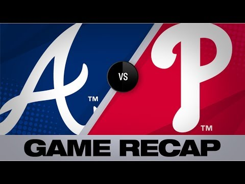 Video: Flowers' 3-run HR leads Braves to 3-1 win | Braves-Phillies Game Highlights 9/11/19