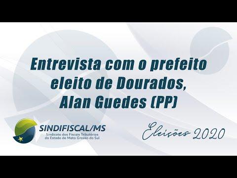 Prefeito eleito de Dourados concede entrevista à TV Sindifiscal