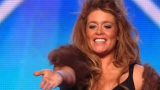 Video Britain's Got Talent S08E02 Lettice Rowbotham Stunning Rock Violin Performance MP3, 3GP, MP4, WEBM, AVI, FLV Juli 2018