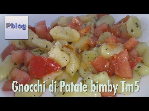 video ricetta: bimby - gnocchi di patate fatti in casa