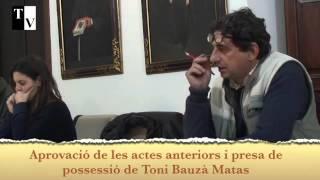 Actes i presa de possissió de Toni Bauzà
