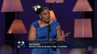 Mo'Nique winning Best Supporting Actress