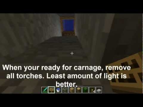 Minecraft zombie xp farm endless food supply tutorial minecraft