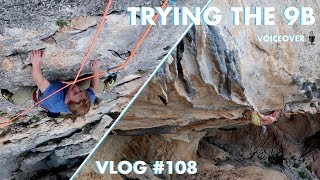 TRYING HARD ON THE 9B | VLOG #108 by Magnus Midtbø