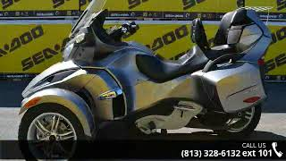 5. 2011 Can-Am® Spyder® RT Audio & Convenience SE5  - Tamp...