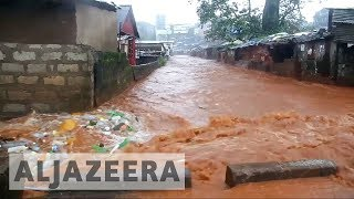 At least 600 people are still missing after a massive wall of mud and water wiped out whole neighbourhoods in Sierra Leone's ...