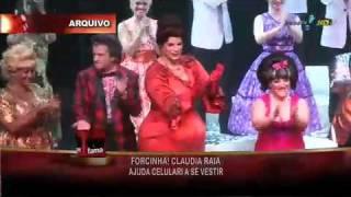 Edson falando sobre seu musical 'Hairspray' e adiantando detalhes do novo musical da Claudia Raia 'De pernas pro ar'