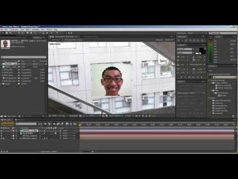 許漢柏After effects CS6 教學_攝影機晃動穩定+攝影機3D追蹤