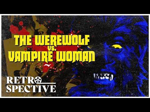 Werewolf Versus Vampire Woman (1971) Paul Naschy Horror Full Movie | Retrospective