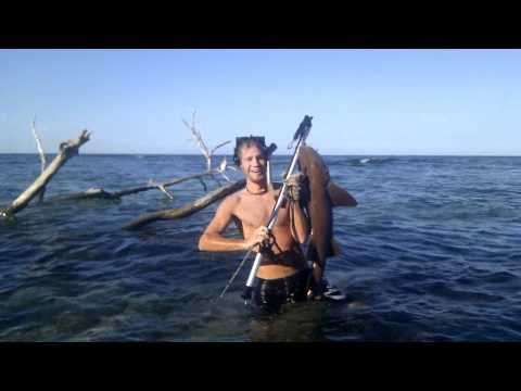 pesca con arpon - Pesca con arpon Adrian.
