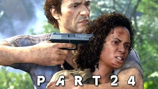 Uncharted 4 A Thief's End Walkthrough Gameplay Part 24 - Misdirection (PS4)