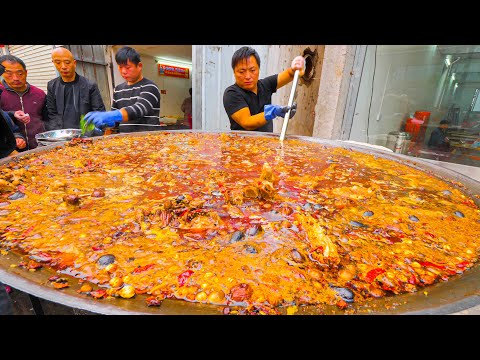 Chinese Street Food  200 KG Street Hot Pot