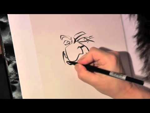 Karikaturist / Schnellzeichner Georg Zitzmann.m4v